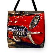 1954 Chevrolet Corvette Number 3 Tote Bag