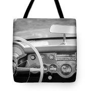 1954 Chevrolet Corvette Steering Wheel -368bw Tote Bag