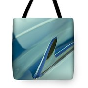 1954 Chevrolet Hood Ornament 2 Tote Bag
