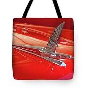 1954 Ford Cresline Sunliner Hood Ornament 2 Tote Bag