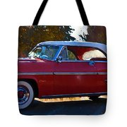1954 Mercury Monterey Tote Bag