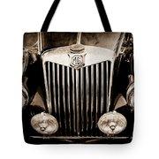 1954 Mg Tf Grille Emblem -0165s Tote Bag