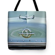 1954 Oldsmobile Super 88 Hood Ornament 3 Tote Bag