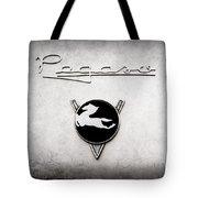 1954 Pegaso Z-102 Saoutchik Coupe Emblem -2218ac Tote Bag