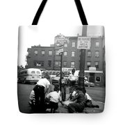 1955 Boys Of The North End Boston Tote Bag