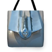 1955 Cadillac Coupe Hood Ornament Tote Bag