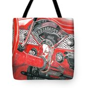 1955 Chevrolet Bel Air Tote Bag