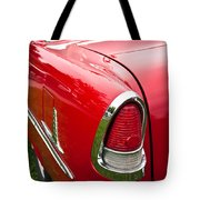 1955 Chevrolet Bel Air Tail Light Tote Bag
