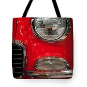 1955 Chevy Bel Air Headlight Tote Bag
