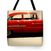 1955 Chevy Tote Bag by Tom Zukauskas