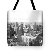 1955 Downtown Chicago Tote Bag