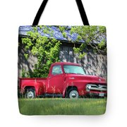 1955 Ford F100 Truck Tote Bag