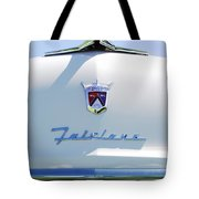 1955 Ford Fairland Hood Ornament Tote Bag