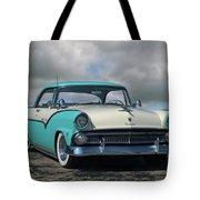 1955 Ford Fairlane Victoria Tote Bag