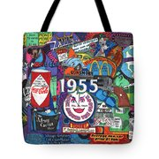 1955 In Review Tote Bag