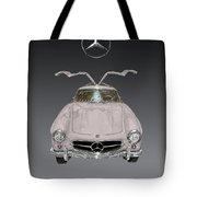 1955 Mercedes Benz Gull Wing 300 S L  Tote Bag