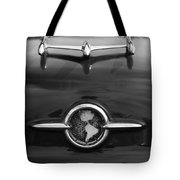 1955 Oldsmobile Holiday 88 Hood Ornament 2 Tote Bag