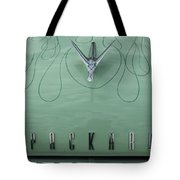 1955 Packard Hood Ornament 2 Tote Bag