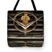 1955 Packard Hood Ornament Emblem Tote Bag