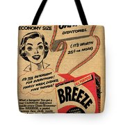 1955 Vintage Washing Powder Advert Tote Bag