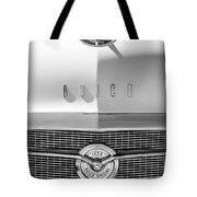 1956 Buick Special Hood Ornament - Emblem -0538bw Tote Bag