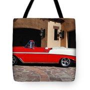 1956 Chevrolet Belair Convertible Tote Bag