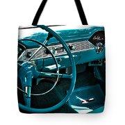 1956 Chevrolet Belair Interior Hdr No 1 Tote Bag