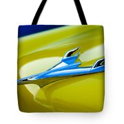 1956 Chevrolet Hood Ornament Tote Bag