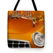 1956 Chrysler Custom 2 Door Sport Wagon Tote Bag