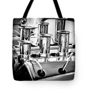 1956 Chrysler Hot Rod Engine Tote Bag