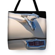 1956 Chrysler Soaring Falcon Hood Ornament Tote Bag