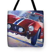 1956 Ferrari 250 Gt Berlinetta Tour De France Tote Bag
