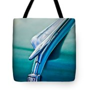 1956 Fiat Hood Ornament 2 Tote Bag by Jill Reger