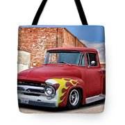 1956 Ford F100 'brickyard' Pickup Tote Bag