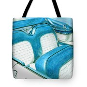 1956 Ford Fairlane Convertible 1 Tote Bag