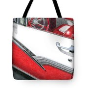 1956 Ford Fairlane Convertible 2 Tote Bag