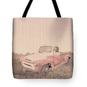 1956 Ford S120 International Truck Tote Bag
