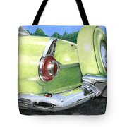 1956 Ford Thunderbird Tote Bag