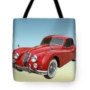 1956 Jaguar Xk 140 Mc Tote Bag