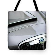 1956 Lancia Aurelia B24 Convertible Hood Emblem Tote Bag
