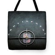 1956 Lincoln Continental Mark II Coupe Emblem -2079ac Tote Bag