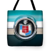 1956 Mercury Monterey Emblem Tote Bag