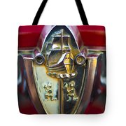 1956 Plymouth Belvedere Emblem 2 Tote Bag
