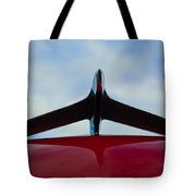 1956 Plymouth Hood Ornament Tote Bag