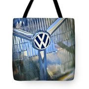 1956 Volkswagen Vw Bug Head Light Tote Bag
