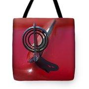 1957 Buick Hood Ornament  Tote Bag