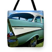 1957 Cheverolet Tote Bag