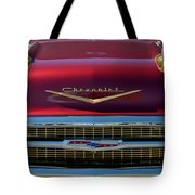 1957 Chevrolet Grille Tote Bag