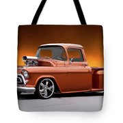 1957 Chevrolet Stepside Pickup L Tote Bag