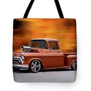1957 Chevrolet Stepside Pickup Ll Tote Bag